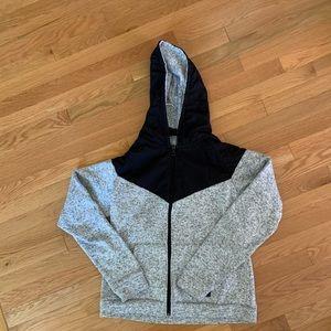 Massive zip up hoodie Small